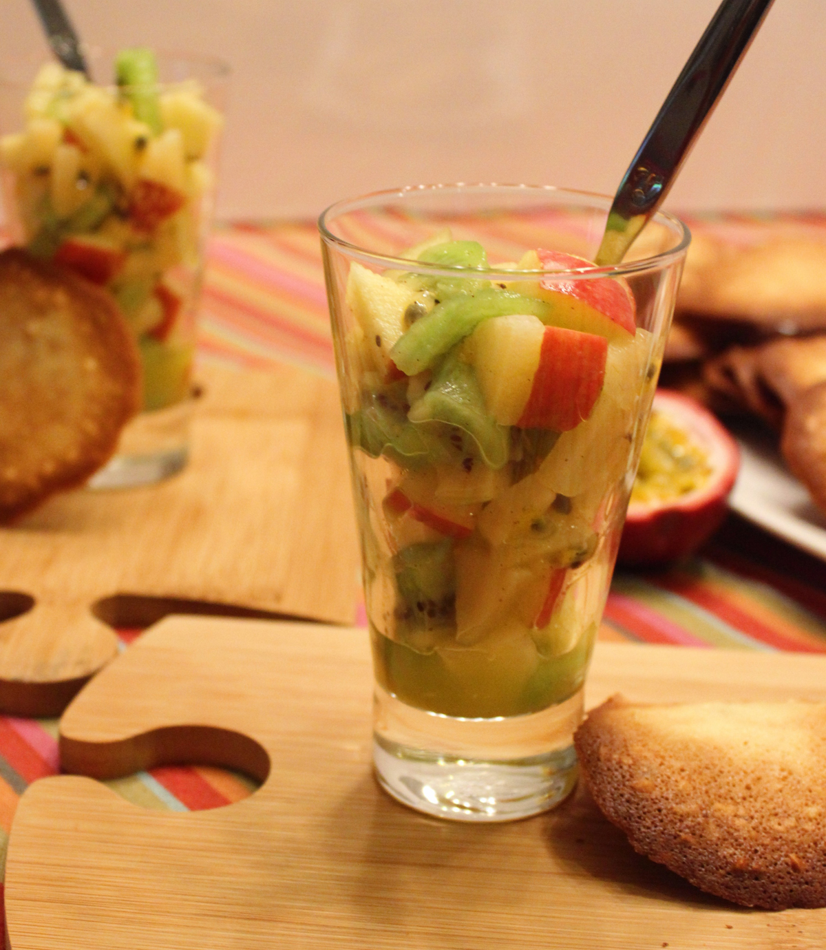 Salade de fruits d hiver et poires de terre jardin d 39 essai - Poire de terre cuisine ...