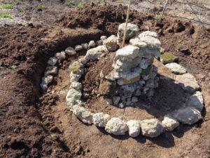 construction tour spirale à aromatiques