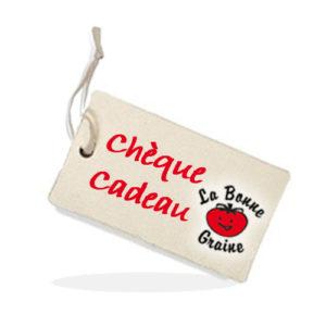 Un chèque cadeau en cadeau du jeu concours de La Bonne Graine, c'est pas mal !