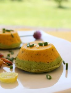 mousse carotte-brocoli