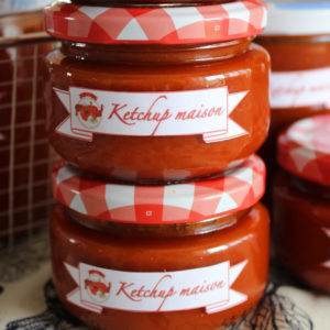 Ketchup prêt à être conservé