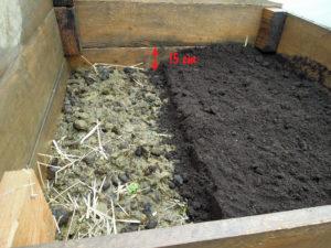 répartition terreau pour semis