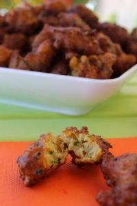 acras de courgettes et carottes