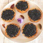 tarte briochée aux myrtilles
