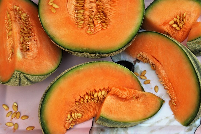 melon bien orange !