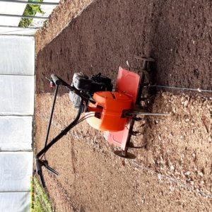 compost et motobineuse